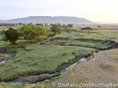 The Masai Mara, hot air balloon