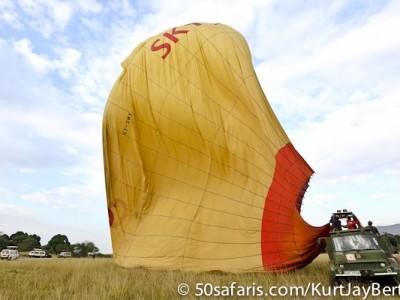 The deflating balloon